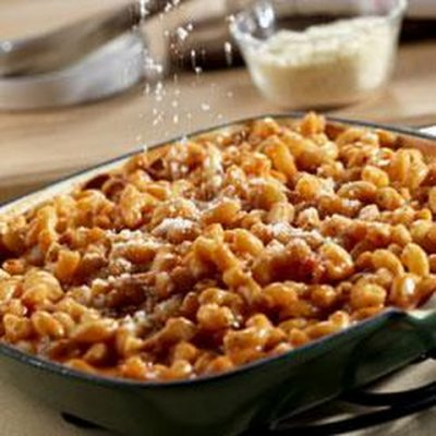 Macaroni with Beef in Tomato Sauce