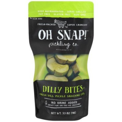 Dilly Bites, Fresh Dill Picle Snacking Cut