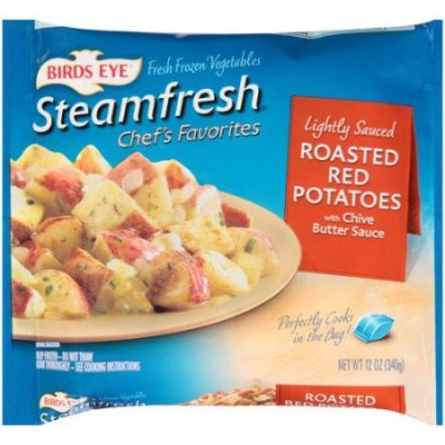 Steamfresh Lightly Sauced Vegetables - Roasted Red Potatoes with Garlic Butter Sauce