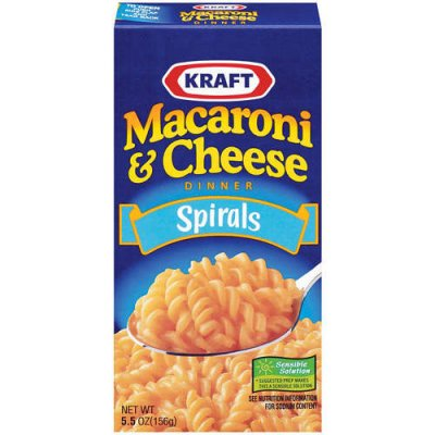 Macaroni & Cheese Dinner, Three Cheese with Mini-Shell Pasta