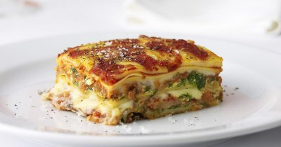 All Natural Italian Sausage & Beef Lasagna