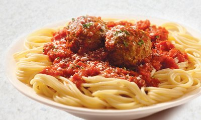 Pasta & Meatballs in Marinara Sauce