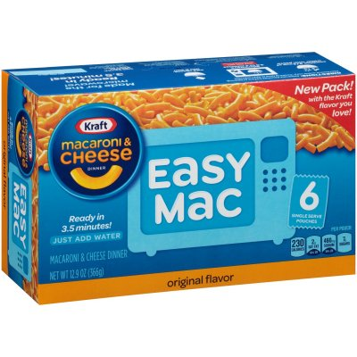 Easy Mac Snack Packets