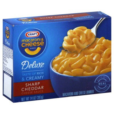 Macaroni And Cheese Dinner, Sharp Cheddar