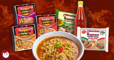 Chicken Flavor Ramen Noodles Instant Lunch