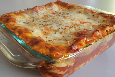 Lasagna, with Meat Sauce, Family Size