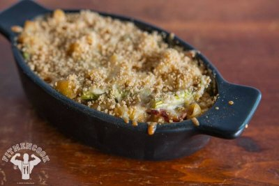 Uncured Bacon Mac & Cheese