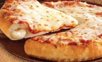 Pizza, Garlic Bread Crust, Four Cheese
