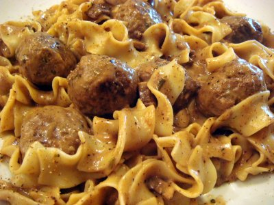Swedish Meatballs, Home Style Meals