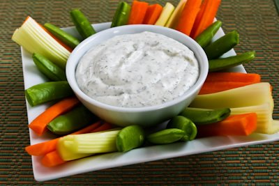 Veggie Snack, Celery, Carrots, Broccoli & Ranch Dip