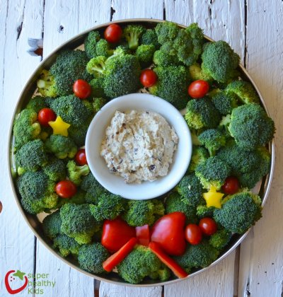Veggie Tray With Ranch Dip