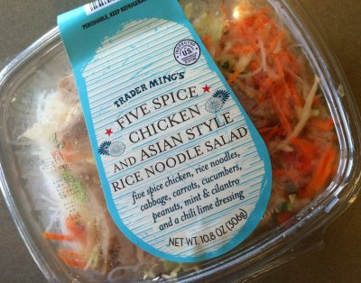 Chicken and Asian Style Noodle Salad - Five Spice