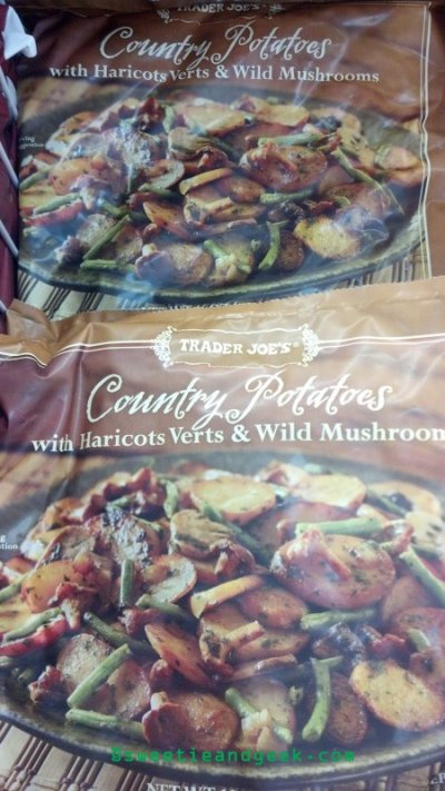 Country Potatoes with Haricots Verts & Wild Mushrooms