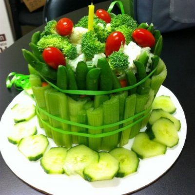 Vegetable Tray With Ranch Dip