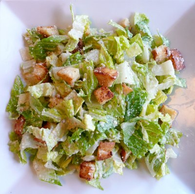 Caesar Salad and Caesar Dressing