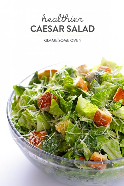 Caesar Salad with Croutons, Cheese & Dressing