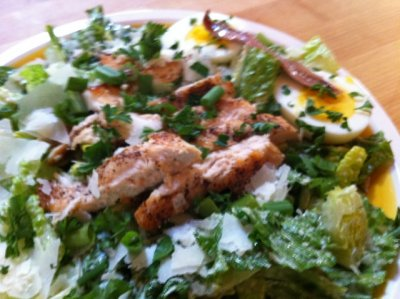 Green To Go, Complete Meal For One, Chicken Caesar Salad