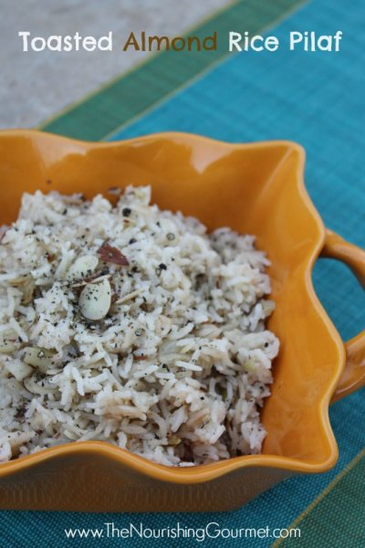 Rice Pilaf Mix, Toasted Almond
