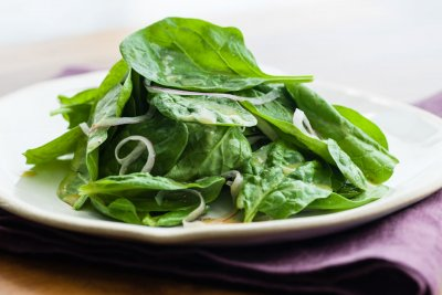 Spinach Dijon Salad