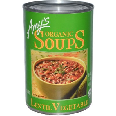 Organic Lentil Vegetable Soups