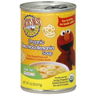 Organic Soup, Elmo, Vegetable