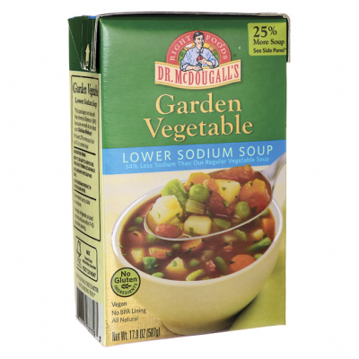 Soup, Garden Vegetable, Lower Sodium