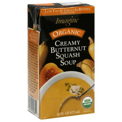 Soup, Organic, Butternut Squash, Low Fat