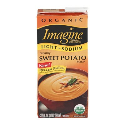 Sweet Potato Soup, Less Sodium, Organic
