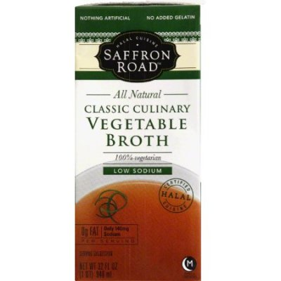 Classic Culinary Vegetable Broth - Low Sodium