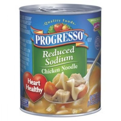 Organic Chicken Noodle Soup, Reduced Sodium