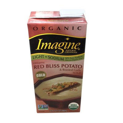 Organic Light In Sodium, Creamy Red Bliss Potato & Roasted Garlic Soup