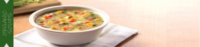 Soups, Organic, Low Fat, Minestrone