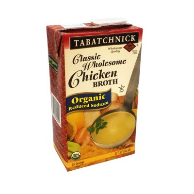 Traditional Chicken Broth - Low Sodium