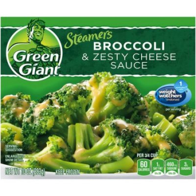 Broccoli & Zesty Cheese Sauce
