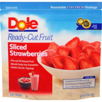Ready-Cut Fruit, Sliced Strawberries, Frozen