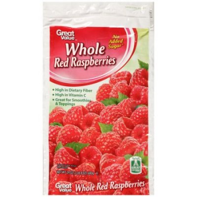 Whole Red Raspberries