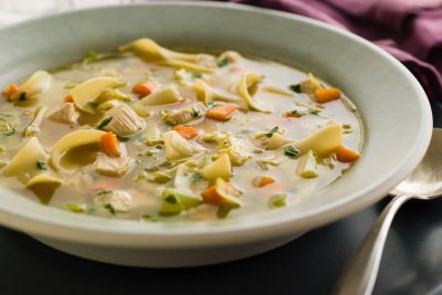 Chicken Noodle With Carrots & Celery Soup