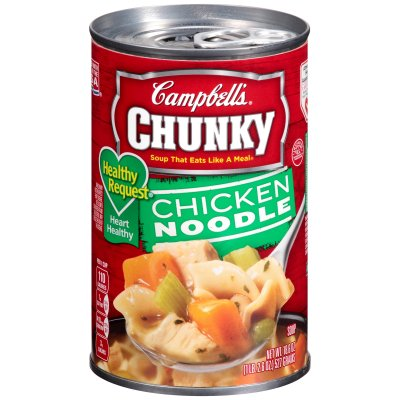 Healthy Chunky Chicken Noodle Soup