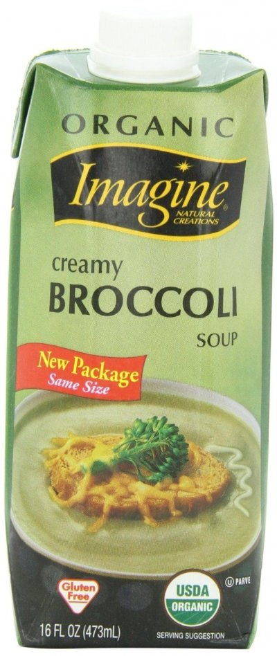 Organic Creamy Broccoli Soup