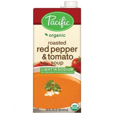 Organic Tomato & Roasted Red Pepper Soup - Low Sodium