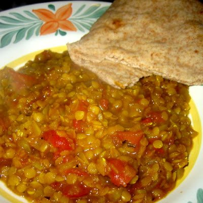 Soup, Golden Lentil, Indian Dal
