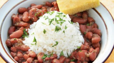 Soup, Red Beans & Rice