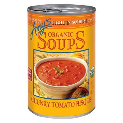 Soups, Chunky Tomato Bisque, Organic