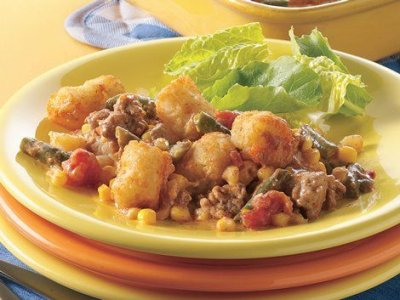 Vegetable Classics, Southwestern Style Corn With Potatoes & Peppers
