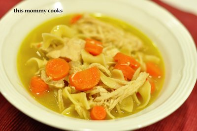Chicken Noodle Soup, Homestyle