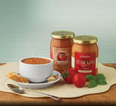 Reduced Fat Tomato Basil Soupe
