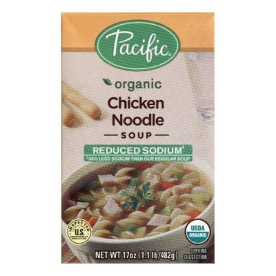 Soup, Reduced Sodium, Chicken Noodle