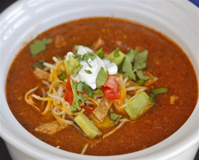 Fiesta Chicken Tortilla Soup