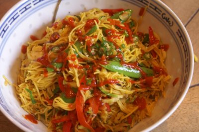 Japanese Style Noodles, Chow Mein