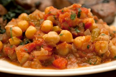 Moroccan Style Chicken With Chickpeas Soup